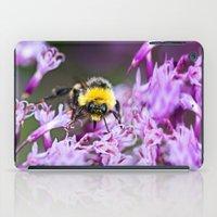 bee iPad Cases featuring Bee by Dora Birgis