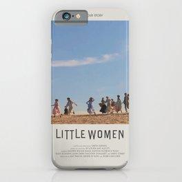 Little Women (2019) Minimalist Poster iPhone Case