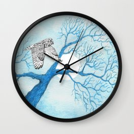 Misterious Night Wall Clock
