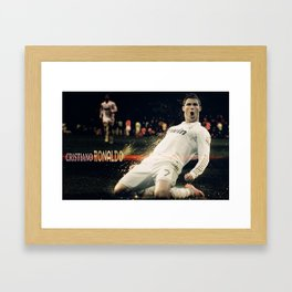 Ronaldo Cristiano #2 Framed Art Print