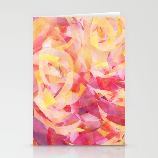 Concentric (Rise Remix) Stationery Cards