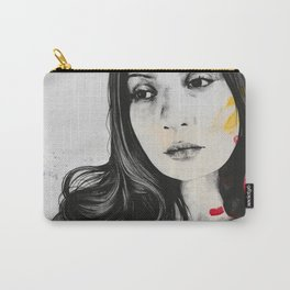 untitled #31721   sensual voluptuous woman drawing Carry-All Pouch