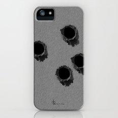 Bullet holes Slim Case iPhone (5, 5s)