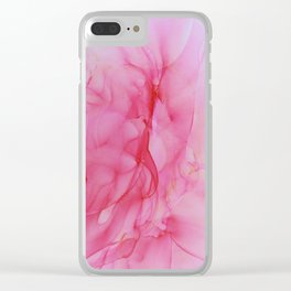 P I N K Clear iPhone Case