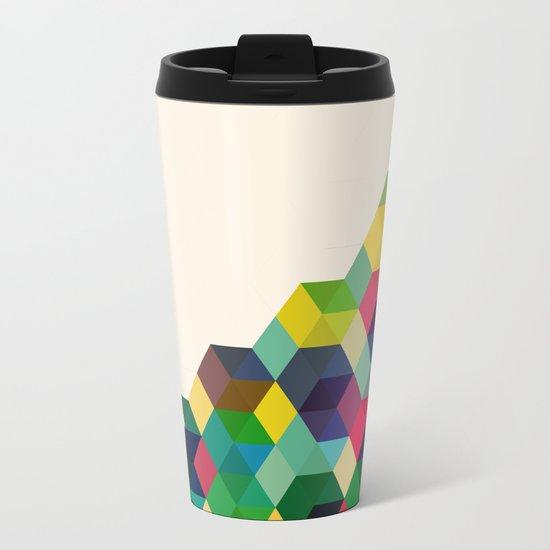 Hexagonzo Metal Travel Mug
