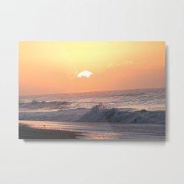 Surf City Sunrise Metal Print