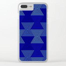 Op Art 63 Clear iPhone Case