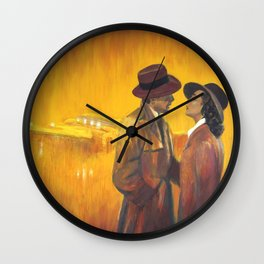 Casablanca film poster - The End Wall Clock