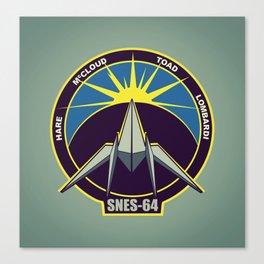 The Lylat Space Academy Canvas Print