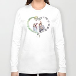 Beetle juice - Adam & Barbara Long Sleeve T-shirt