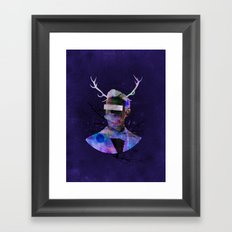 We are all flesh and bone Framed Art Print