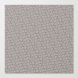 Circles Pattern -Tobiko #abstract Canvas Print
