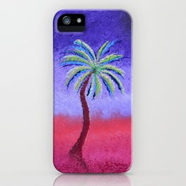 """""""Monet's Sunset #2"""" Tribute Oil Painting iPhone Case"""