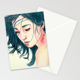 East Wind Girl Stationery Cards