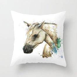 Palomino Horse - Sundance Throw Pillow