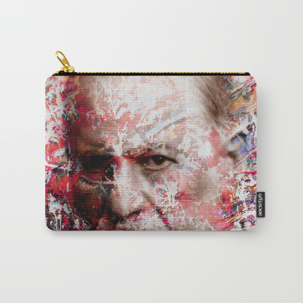 Sigmund Freud Carry-all Pouch by Vonis CAP8240824