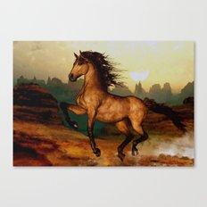 Prairie dancer Canvas Print