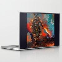 iron man Laptop & iPad Skins featuring iron man by ururuty