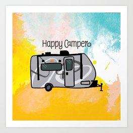 Happy Camper 2 - R-Pod Edition Art Print