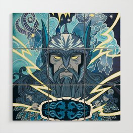 Thor Wood Wall Art