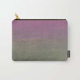 Pink, Gold & Silver Ombre Shimmer Carry-All Pouch
