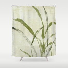 beach weeds Shower Curtain