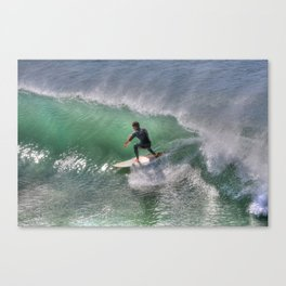 Off  Shore Winds Canvas Print