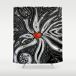You Can Never Love Too Much Shower Curtain