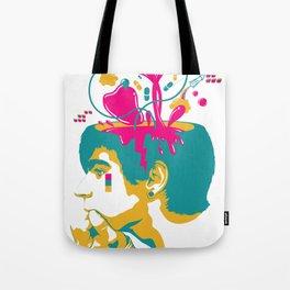 Liquid thoughts:Boy Tote Bag