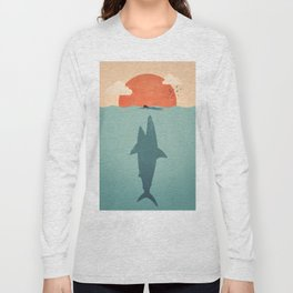 Shark Attack Long Sleeve T-shirt