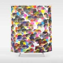 Lovely Dot No. 1 Shower Curtain