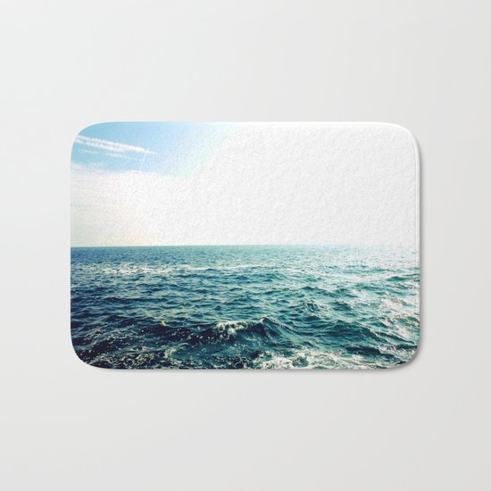 Sea waves I Bath Mat