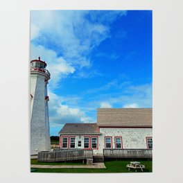 East Point PEI Lighthouse Poster