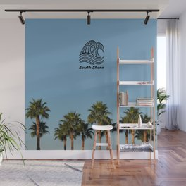 South Shore Palm Trees Design Wall Mural