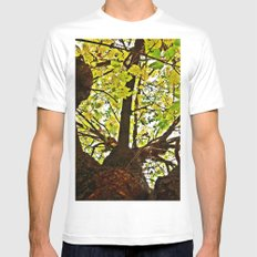 Pi Tree wants some Pie MEDIUM White Mens Fitted Tee