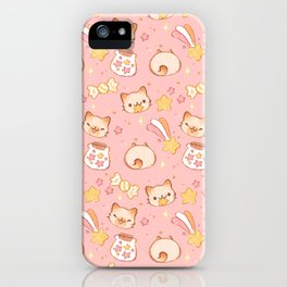 Stars, Sprinkles, and Kittens iPhone Case