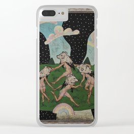 Dance of the Bears Clear iPhone Case
