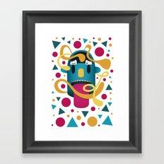 In Your Face Framed Art Print