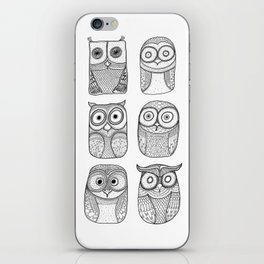 Six Pack (owl collective) iPhone Skin