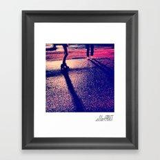 Legs for nights Framed Art Print