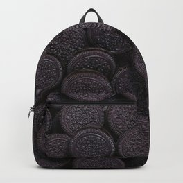 Oreo Cookie Pattern Illustration Backpack