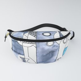 the daily creative project: fish, fish, fish Fanny Pack