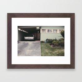 The front yard Framed Art Print