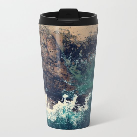 ocean breeze Metal Travel Mug