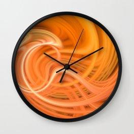 Trippy Twirl 5 Wall Clock