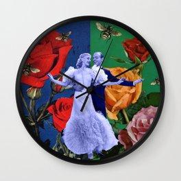 F & G Wall Clock