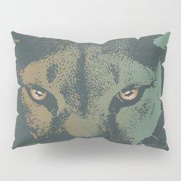 Mountain Lion Night Pillow Sham