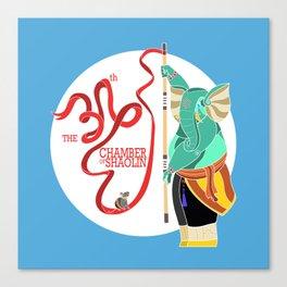 Ganesha Shaolin Canvas Print