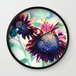 Soul Garden Flowers Wall Clock