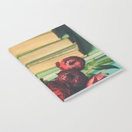Books and Flowers Notebook